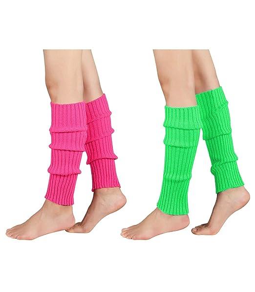 Amazon.com: Durio Calentadores de pierna para mujer, de ...