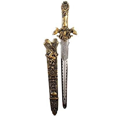 Forum Novelties 80512 Medieval Costume Sword, Bronze, Standard: Toys & Games
