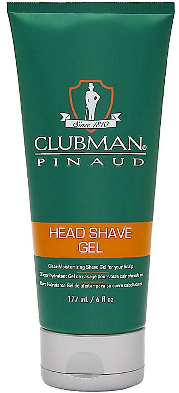 Clubman Head Shave Gel, 6 Ounce 28000
