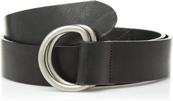 All Leather George Leather Belts Size 36 Black
