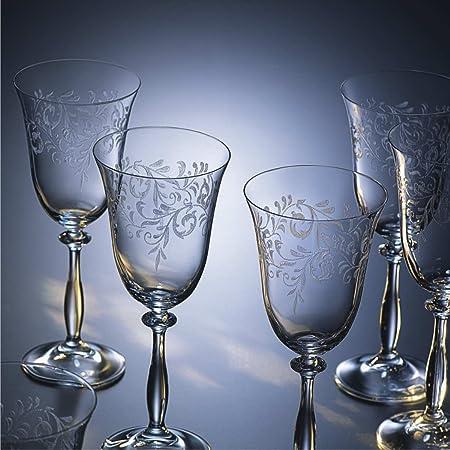 Bohemia Cristal 093/006/013 Romance - Copa de Vino (6 Unidades, 250 ml)