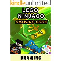 How to draw Lego Ninjago - Amazing Drawing Book