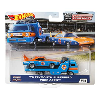 Hot Wheels Team Transport (New Tool): Toys & Games
