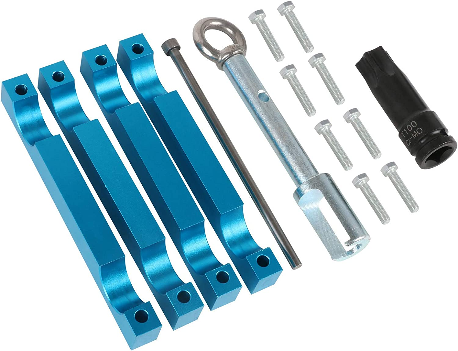 Camshaft Timing Alignment Tools For Mercedes Benz M157 M276 M278 with T100 /& Injector Removal Puller Tool