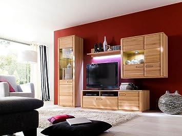 Wohnwand Wohnzimmerschrank Anbauwand Schrankwand Fernsehwand