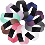 Mornex Strap Compatible Fitbit Charge 2 Strap for Women Men, Classic Adjustable Wristband Replacement TPU Band Silicone Sport Straps with Metal Clasp Small Large