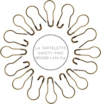 CL 100Pcs Pins Calabash Bulb Gourd Shape Metal Clips Knitting Stitch Marker