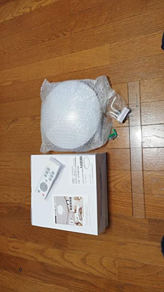 シーリングライト-Lookdol-明るさメモリ機能-室内天井照明器具-60分お休みタイマー