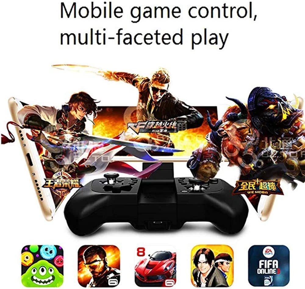 for Android LJ2 Wireless Game Controller Wireless Gamepad Joystick with Vibration Function