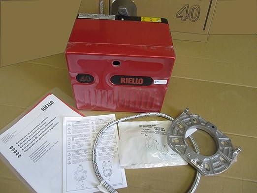 Riello 40 g3b Gas aceite y diésel, aceite de calefacción (gasoil, mazout, fioul funda tipo libro, Gas, gasóleo): Amazon.es: Hogar