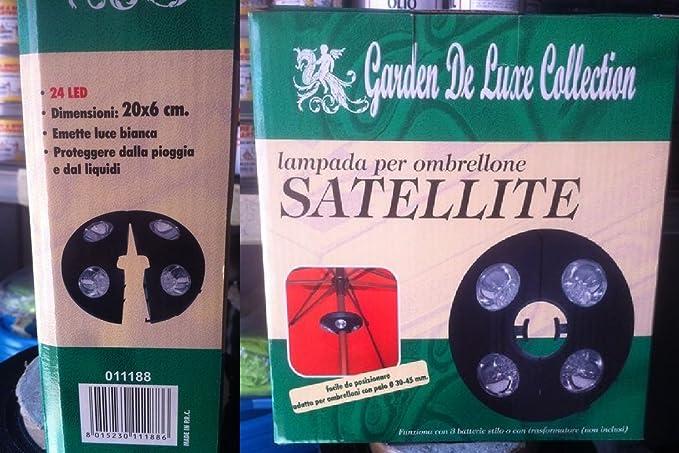Lampada ombrellone giardino gazebo led batteria stilo ⌀ mm