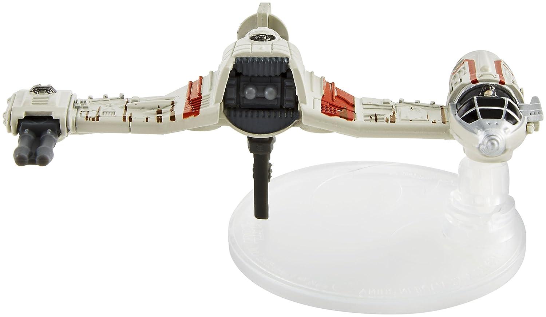 Hot Wheels Star Wars The Last Jedi Poe's Ski Speeder Die Cast Vehicle