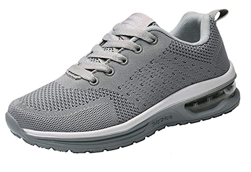a31a76da54edf TSIODFO Men Sports Trail Running Shoes Flyknit Breathable Comfort air  Cushion Youth Big Boys Tennis Shoes Gym Workout Fashion Sneakers