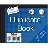 Just Stationery Half Size Duplicate Book Notebook