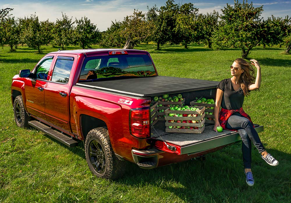 92461 Extang Trifecta 2.O Soft Folding Truck Bed Tonneau Cover 5 1//2 ft with Rail System fits Toyota Tundra 2014-18