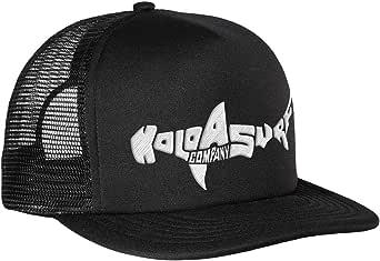Joe's USA Koloa Shark Logo Mesh Back Trucker Hats in 12 Colors