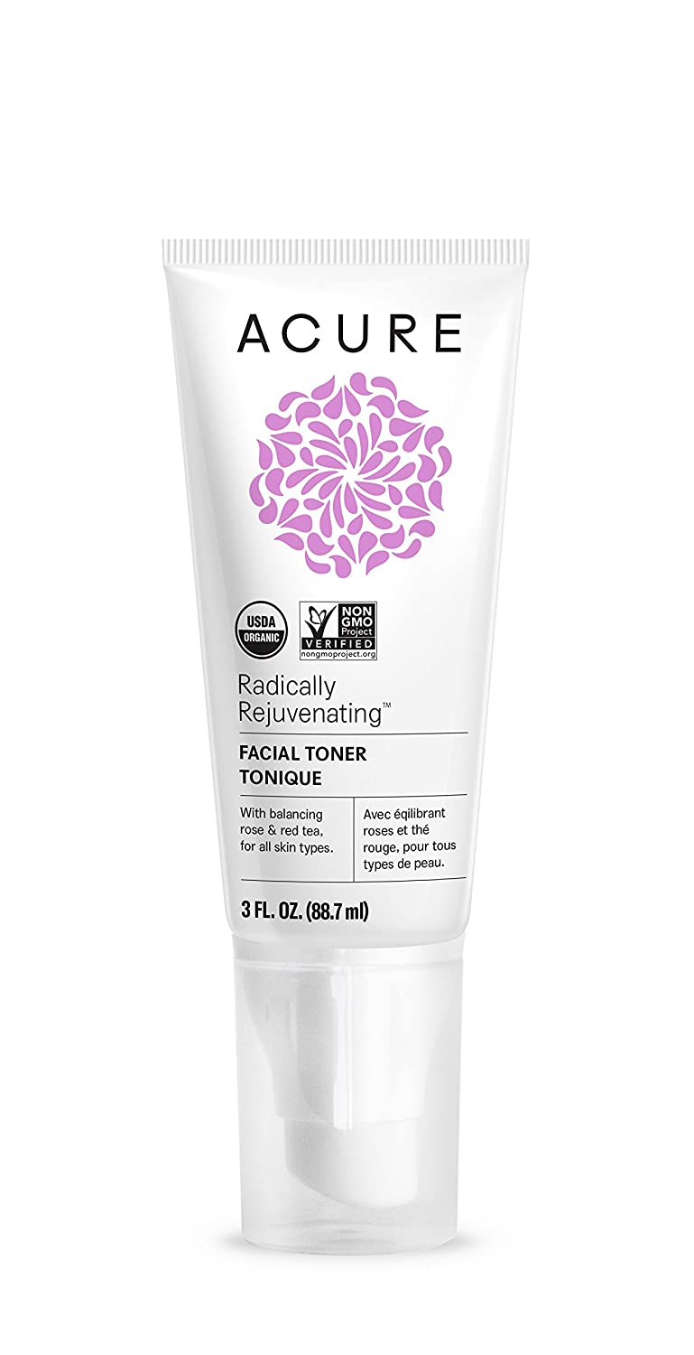 ACURE Facial Toner, Rose/Red Tea Better Planet Brands ET1013