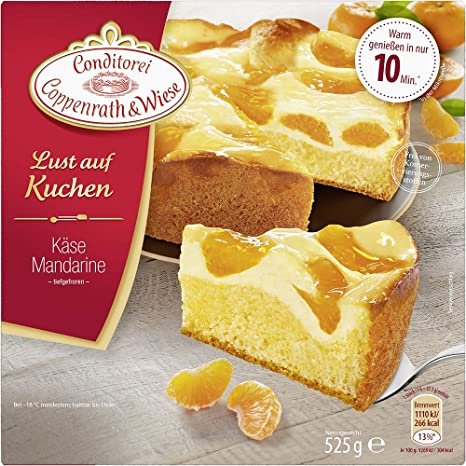 Conditorei Coppenrath Wiese Lust Auf Kuchen Kase Mandarine 525 G