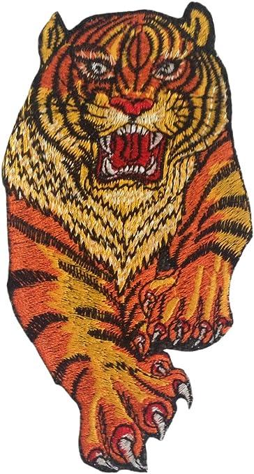 Parche para planchar sobre tigre coser sobre aplique bordado ...