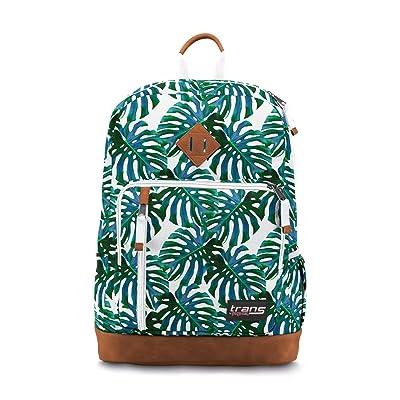 "Trans by JanSport 18"" Dakoda Backpack, Monstera Falls School Travel Daypack | Kids' Backpacks"