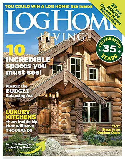 Great Log Home Living