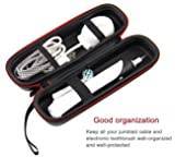 """SHBC Compact Hard Travel Case""""NO SMELL"""" Fits Oral-B Pro 1000 Power Rechargeable Electric Toothbrush Waterproof Carrying Bag"""