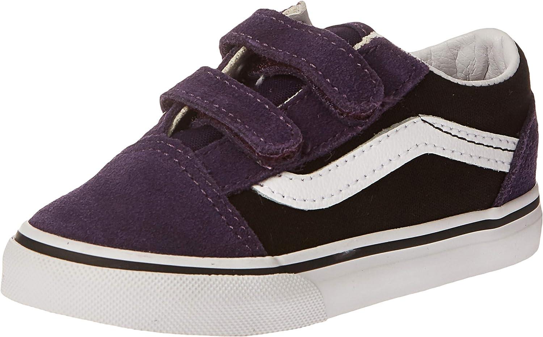 Vans VN0A344KVIT Old Skool V Chaussures Noir NoirLilas