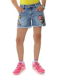 Kinder Mädchen Kurze Hose Bermuda Shorts Sommer Capri Pump
