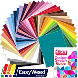 SISER EasyWeed Heat Transfer EVERY Easyweed Color Bundle, 12 Inch x 15 Inch with Custom Siser Swatch Book by Swing Design