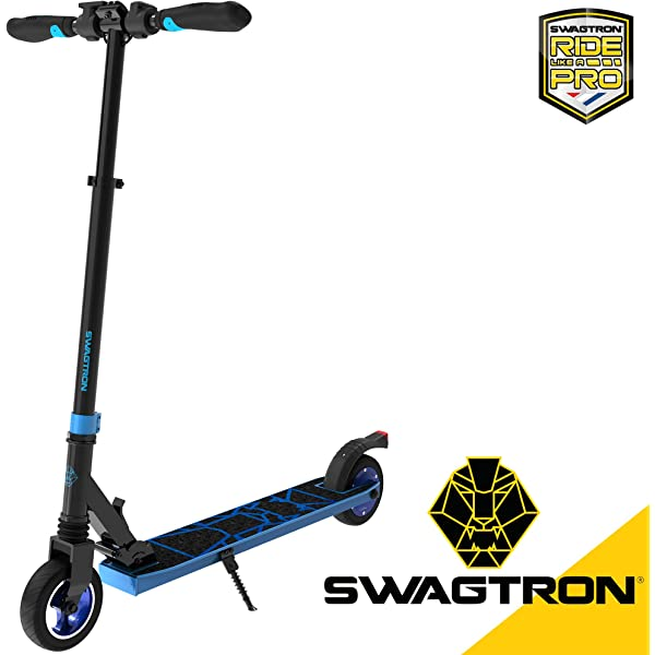 Amazon.com: Swagtron Swagger 2 Plus Foldable Recreational ...