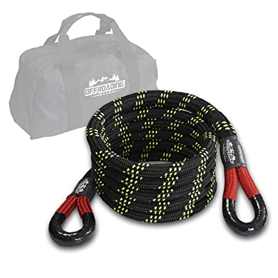 "Offroading Gear 20\'x7/8"" Kinetic Recovery & Tow Rope, (28,600 lbs), Better Than Snatch Straps: Automotive [5Bkhe1411928]"