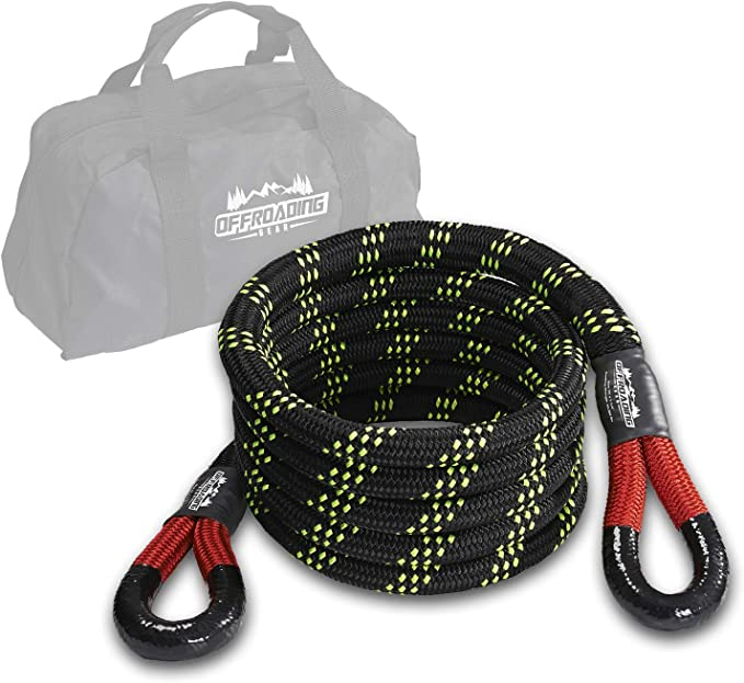 Towing Ropes Tow Rope Thickening Off-road Strong Traction Rope Pull Rope Trailer Rescue Equipment 4 Meters 5 Tons