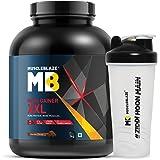 MuscleBlaze Mass Gainer XXL (Chocolate, 3 Kg / 6.6 lb) with free Shaker