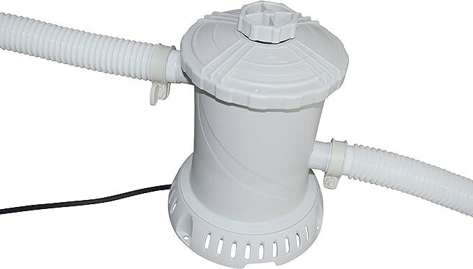 Cartucho filtro para piscina Bomba de filtro RX600 – 2,2 m³/h: Amazon.es: Jardín