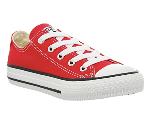 CONVERSE Chuck Taylor All Star Ox Kids Trainer (Junior) - Red 13