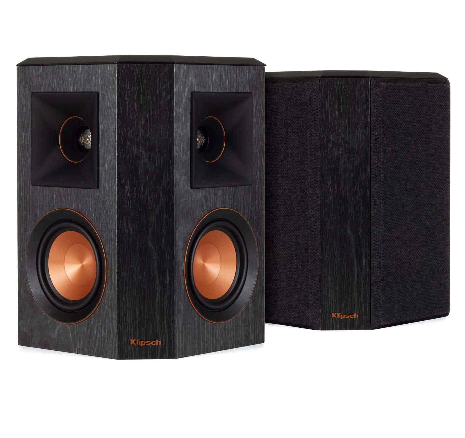 Klipsch RP-402S Reference Premiere Surround Speakers - Pair (Ebony) (Renewed) by Klipsch