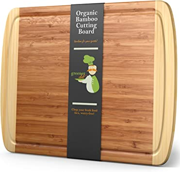 Extra Large Bamboo Cutting Board Xl Wood Cutting Board 18 X 12 5 Chopping Board For Meat And Vegetables Extra Large Cutting Board Wood Wooden Cutting Boards
