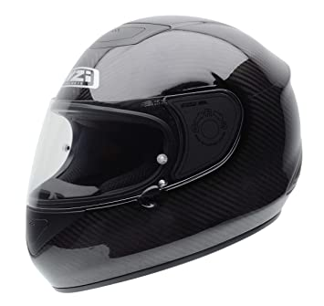 NZI 010221G007XS RCV Carbon Casco de Moto, Gris, Talla XS