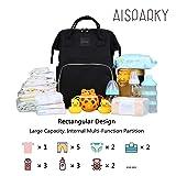 AISPARKY Diaper Bag Backpack Multi-Function