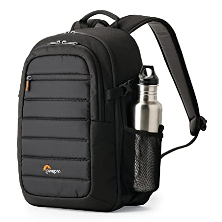 Lowepro Tahoe BP150 DSLR Camera Backpack (Black) <span at amazon