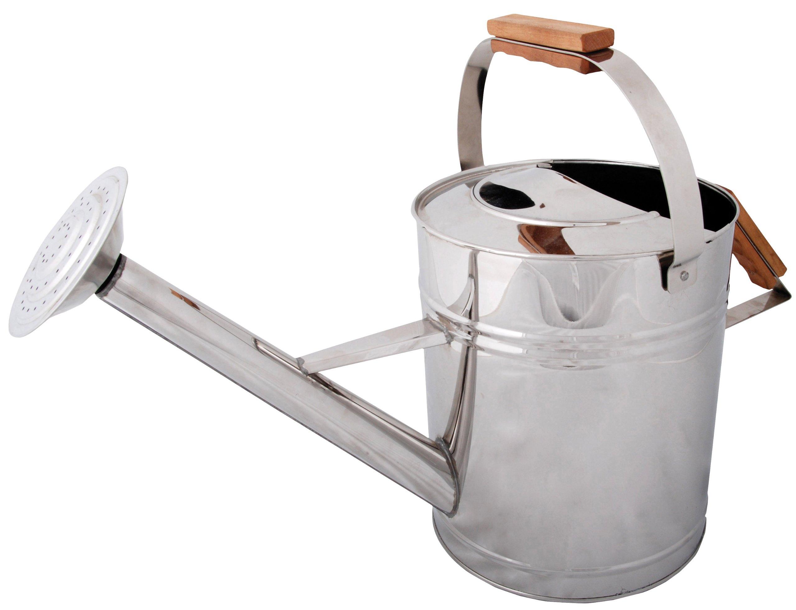 Esschert Design USA GT50 Stainless Steel Watering Can by Esschert Design USA