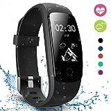 Fitness Tracker, moreFit Slim Touch HR Heart Rate Waterproof Activity Tracker Wireless Bluetooth Smart Bracelet Pedometer Watch with Sleep Monitor