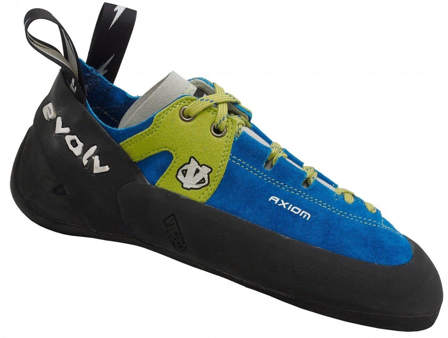 Evolv Axiom Climbing Shoe with FREE Climbing DVD ($30 Value) (Men's 9.5) by Evolv