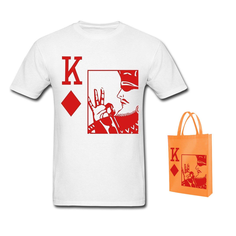 06bf0881c6f2 Amazon.com  MozFashion Men s King Of Diamonds Kappa Alpha Psi T-Shirts  white  Books
