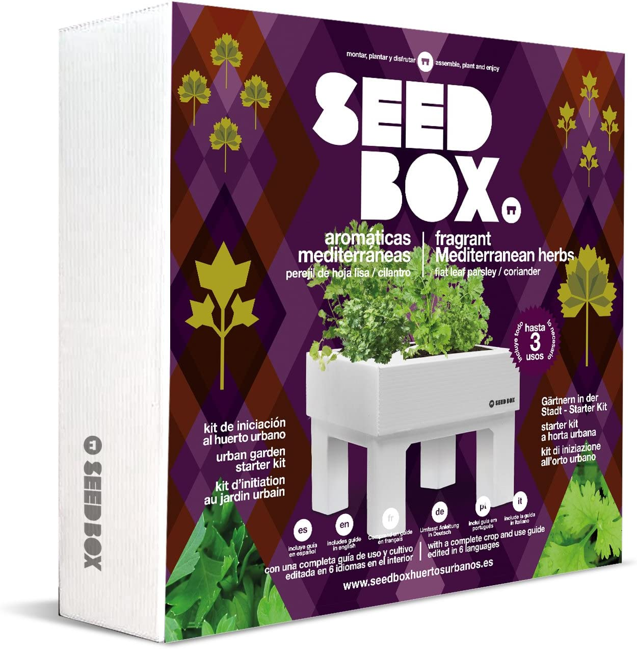 SeedBox Seed Box SBCOAM - Aromáticas mediterráneas