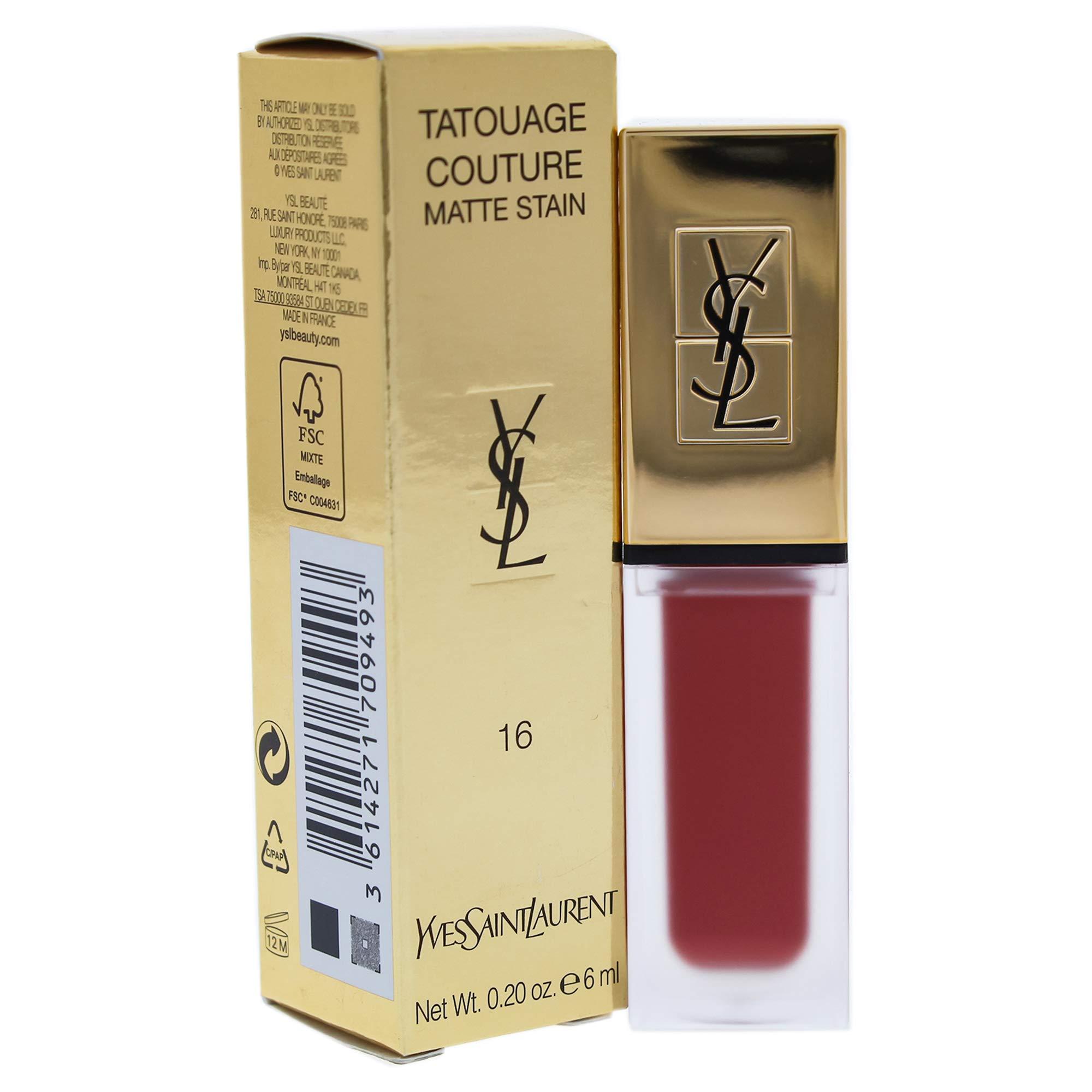 YSL Tatouage Couture Liquid Matte Lip Stain - Nude Emblem No. 16