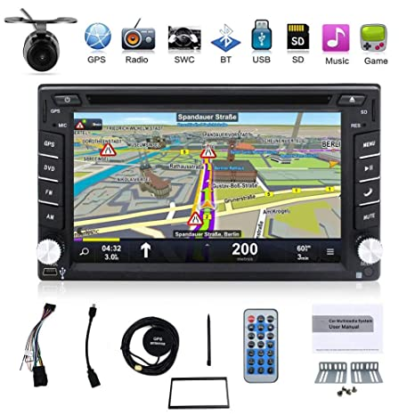 BOSION Navigation Win CE product 6.2-inch Double DIN in Dash Car Dvd on