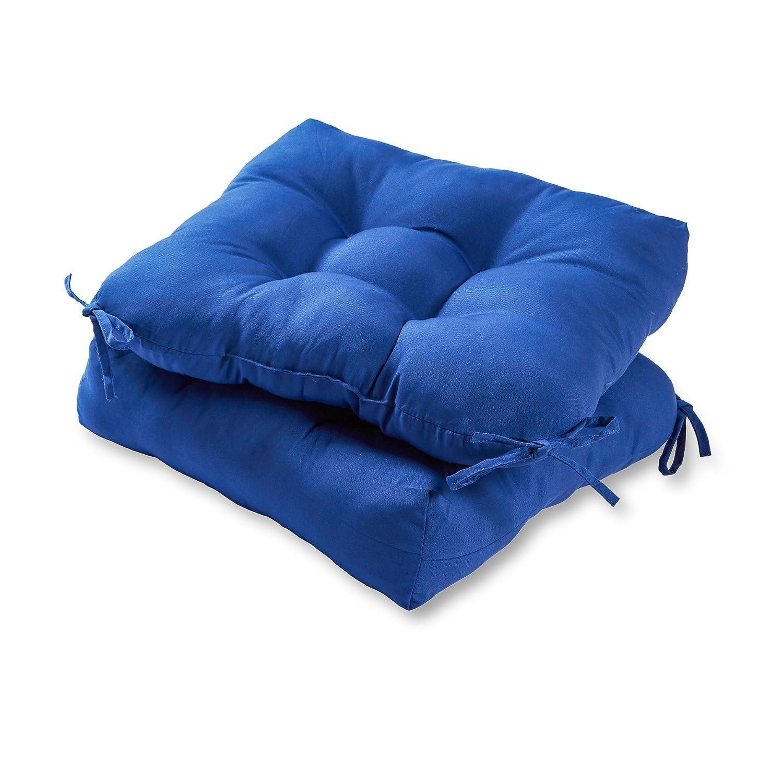 Greendale Home Fashions 20-inch Outdoor Chair Cushion set of 2 , Marine