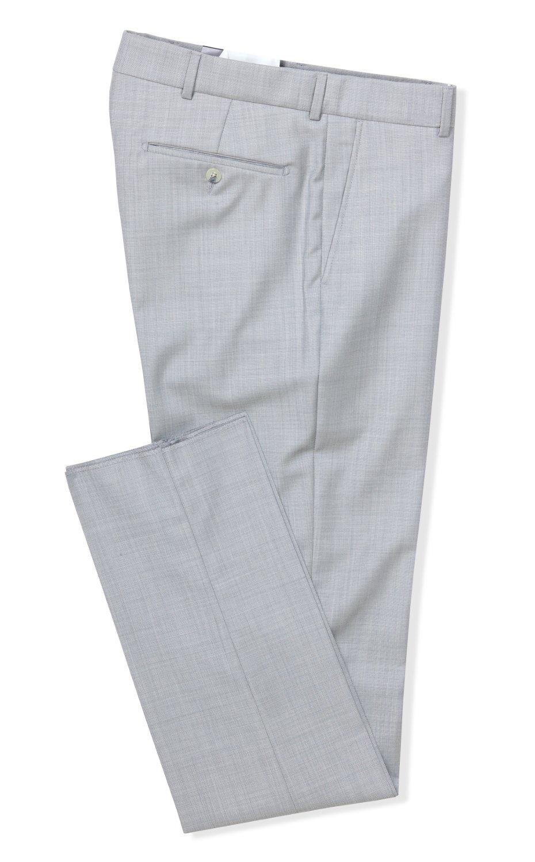 Ballin Men's Soho Modern Fit Lt. Grey Dress Pants - Lt. Grey - 34