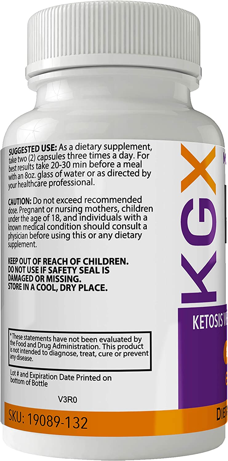 How Does KGX Health Keto Supplement Work